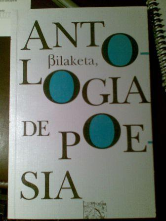 Antología de poesía Bilaketa