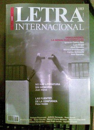 Letra Internacional 103