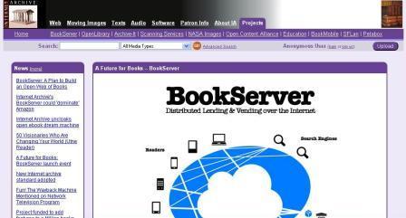 Book server