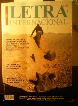 Letra Internacional 105