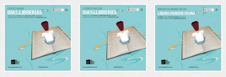 Mañana, en el Día de las librerías #ApoyemosANuestrasLibrerías