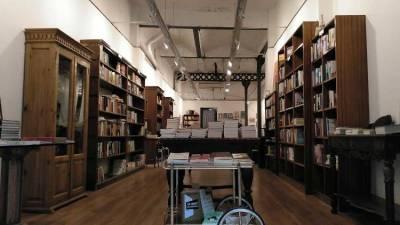 Foto Time Out. Interior librería Obaga